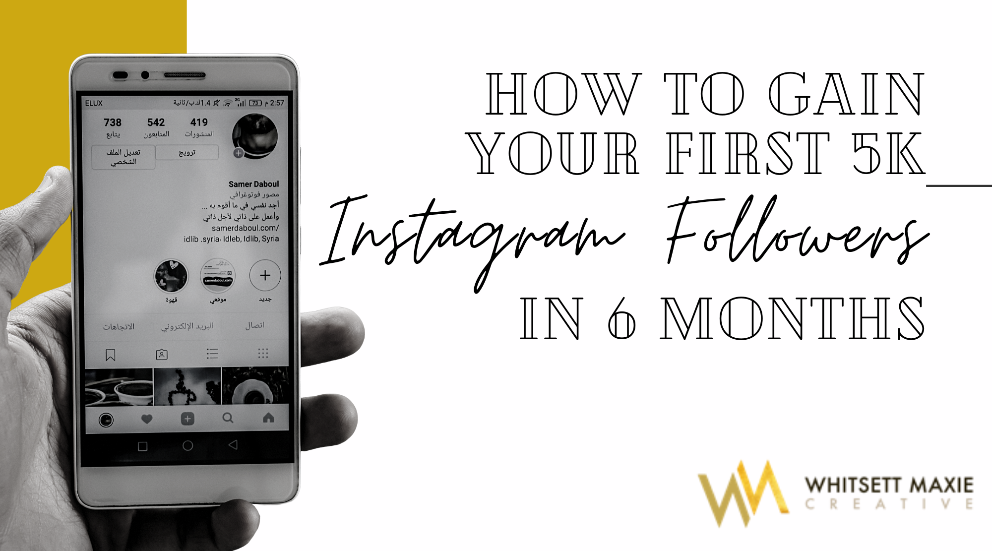 How To Gain Your First 5k Instagram Followers In 6 Months
